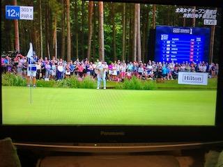 渋野日向子選手、さあ全英女子オープン優勝しちゃおう!